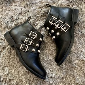 Studded H&M boots